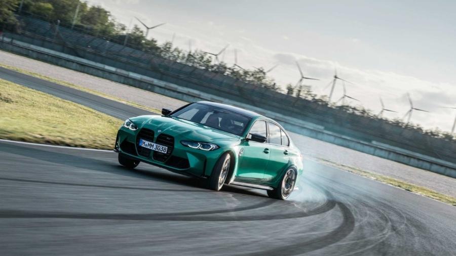 BMW M3 Competition  - Divulgação