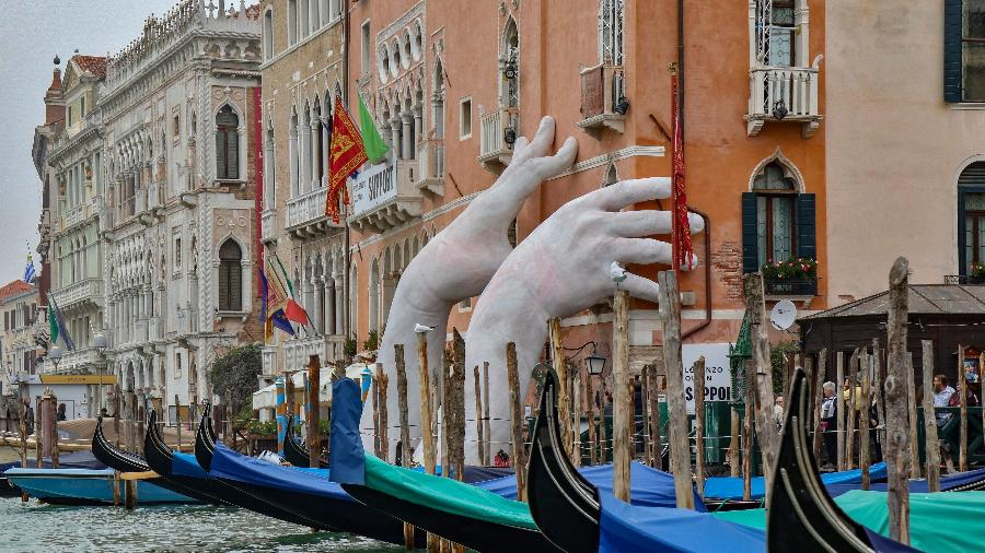 Instalação da Bienal de Arquitetura de Veneza - Getty Images