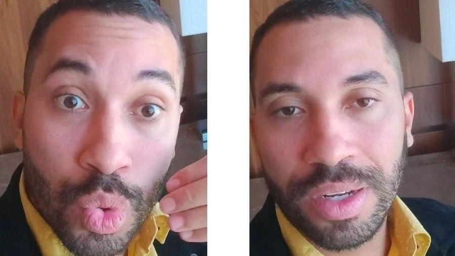 Gil do Vigor nos stories do Instagram - Reprodução/Instagram