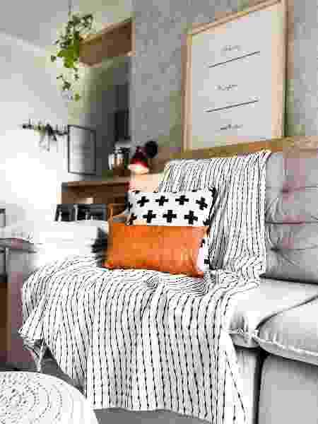 Decoração da sala de estar - Arquivo Pessoal - Arquivo Pessoal