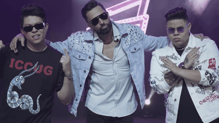 Latino chegou a divulgar parceria com DJ Ivis, mas vai lançar versão sem ele - Rperodução/Instagram - Rperodução/Instagram