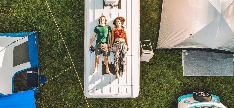 """""""Traveleiros"""", Lais e Renan Jereissati desbravam o Brasil com o motorhome de 6 m² - Reprodução/Facebook"""