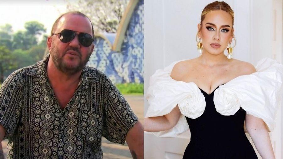 """Adele está sendo acionada judicalmente pelo compositor de """"Mulheres"""" - Reprodução/Instagram - Reprodução/TV Globo"""