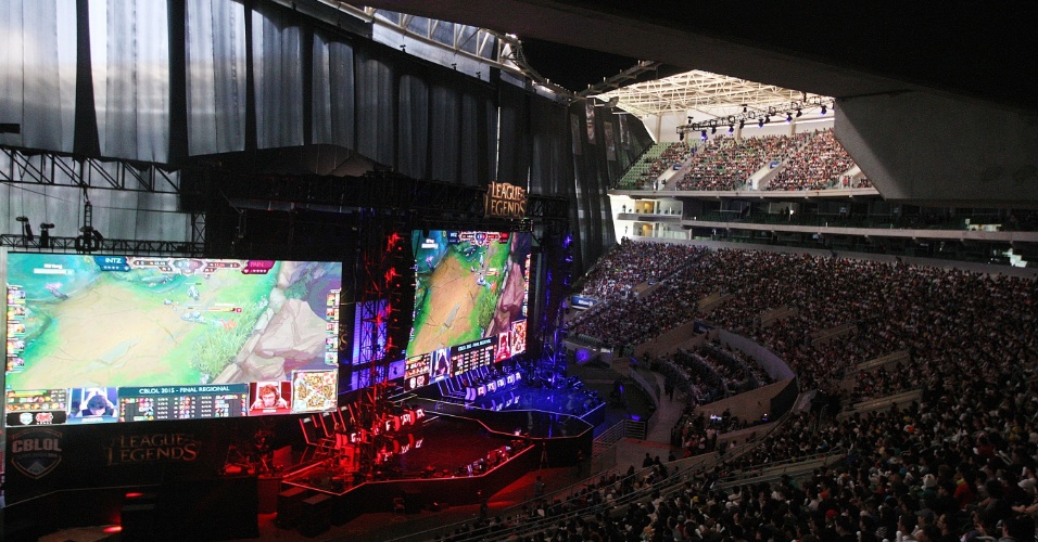 O Allianz Parque, estádio do Palmeiras, é o palco da final do campeonato brasileiro de