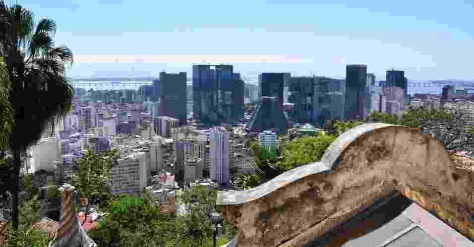 Parque das ruinas matéria lugares para ver a cidade de cima - Alexandre Macieira/Riotur