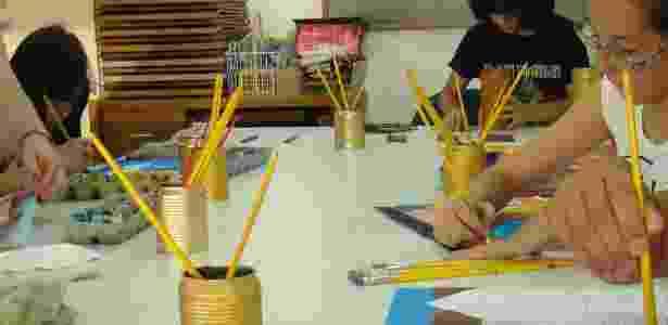 Cursos de férias do Centro Juvenil de Artes Plásticas duram três semanas e vão de  pintura a mangás - Divulgação/CJAP - Divulgação/CJAP