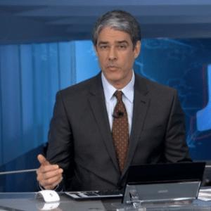 """Eleição americana levará William Bonner apresentar o """"Jornal Nacional"""" dos Estados Unidos - Reprodução/TV Globo"""