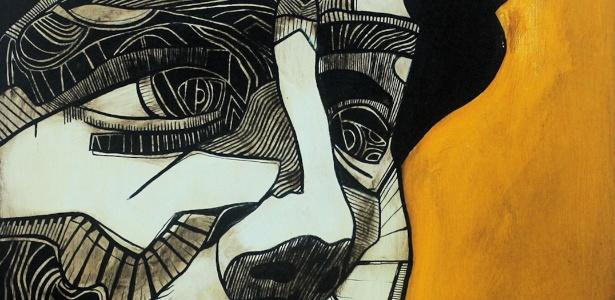 """Obra de Daniel Tavares na mostra """"Renascimento Gráfico"""" - Divulgação / Pedro Silveira"""