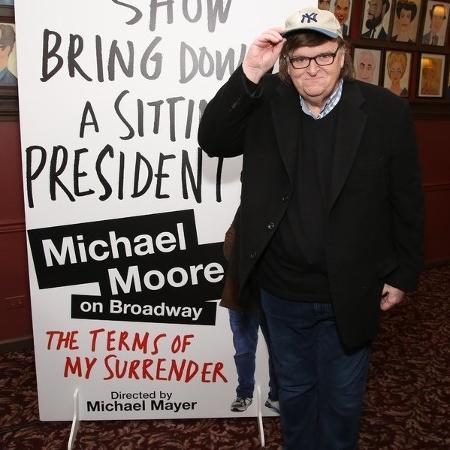 O cineasta Michael Moore - Walter McBride