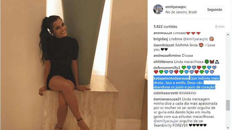 emilly 2 - Reprodução/Instagram - Reprodução/Instagram