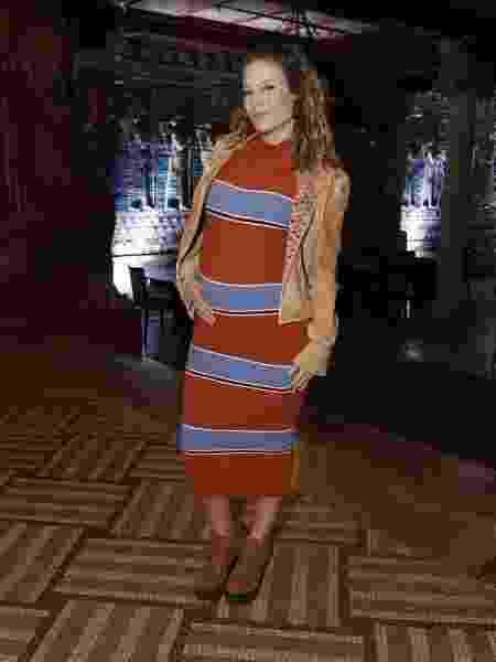 Grávida do primeiro filho, que se chamará Gael, Maíra Charken mostra a barriga toda orgulhosa - Thyago Andrade/ BrazilNews