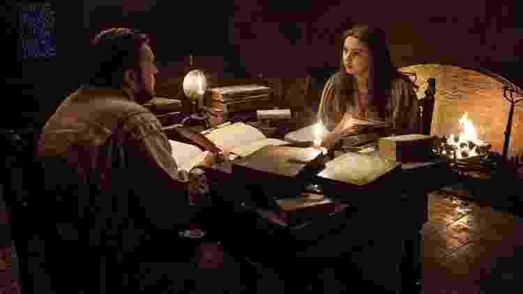 """Samwell Tarly e Gilly em cena do quinto episódio da 7ª temporada de """"Game of Thrones"""" - Divulgação - Divulgação"""