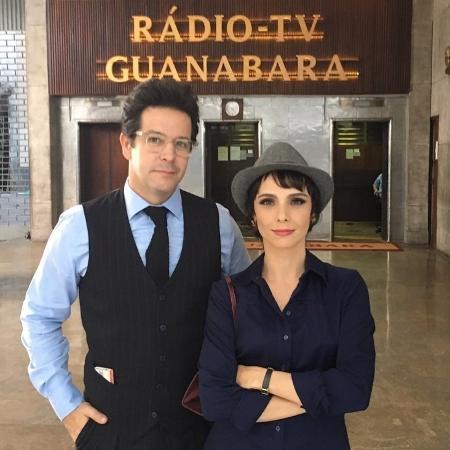 Murilo Benício e Débora Falabella - Reprodução/Instagram