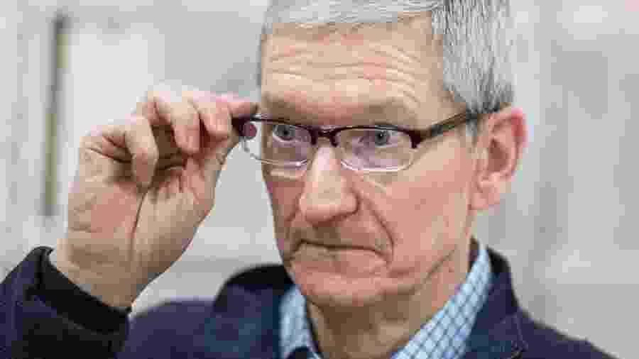 Tim Cook enviou mensagem dizendo que Apple vai fazer doação para preservação da Amazônia - Getty Images/AFP