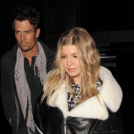 Fergie e o ator Josh Duhamel - Frame