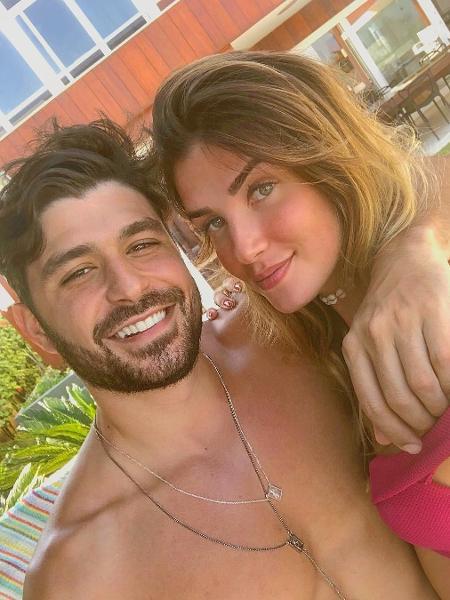 Geraldo Souto e Aline Gotschalg - Reprodução/Instagram