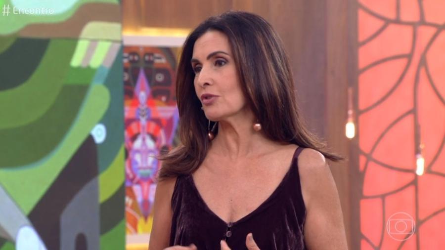 """Fátima Bernardes fala sobre intervenção militar no """"Encontro"""" - Reprodução/Globo"""