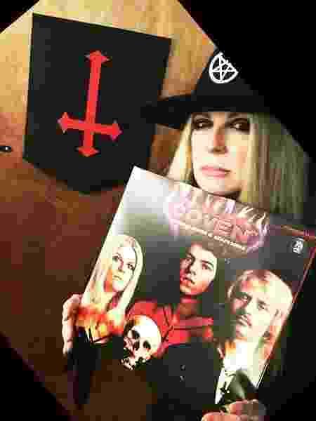 Jinx Dawson, vocalista do Coven - Reprodução/Facebook - Reprodução/Facebook