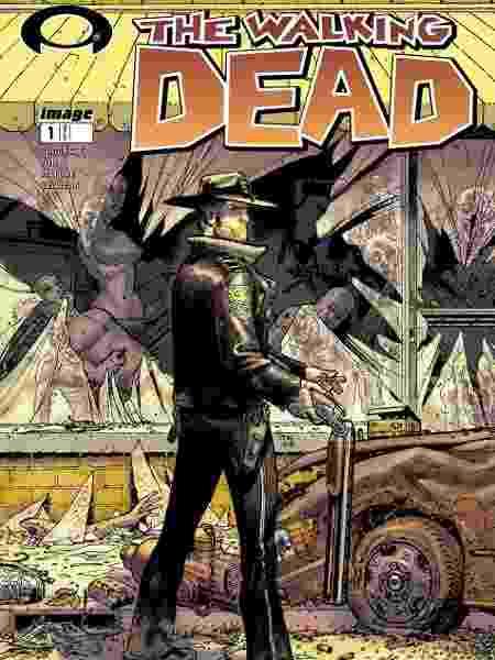 """Capa da HQ de """"The Walking Dead"""" - Reprodução"""