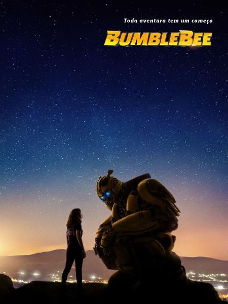 """Cartaz brasileiro do filme """"Bumblebee"""" - Divulgação"""