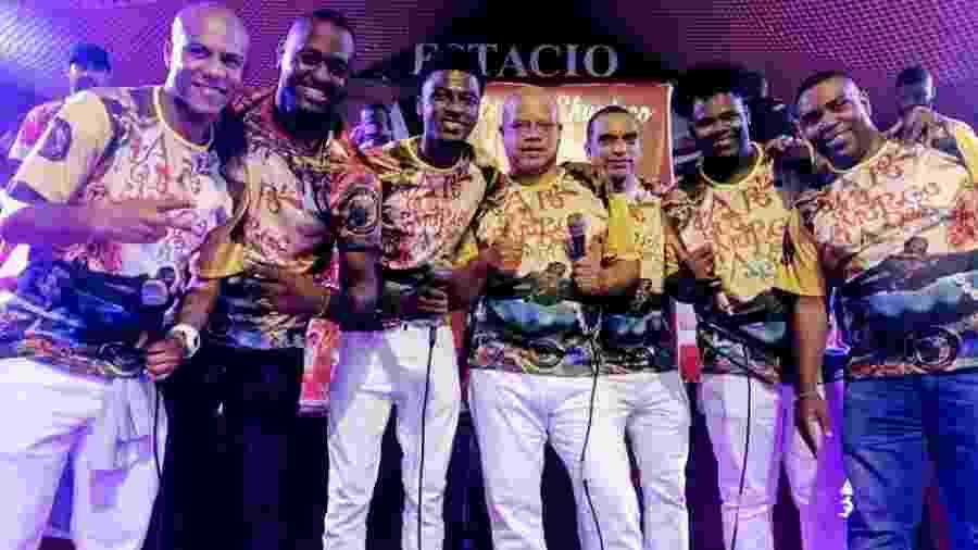 Compositores do samba-enredo 2019 da escola de samba Estácio de Sá - Divulgação