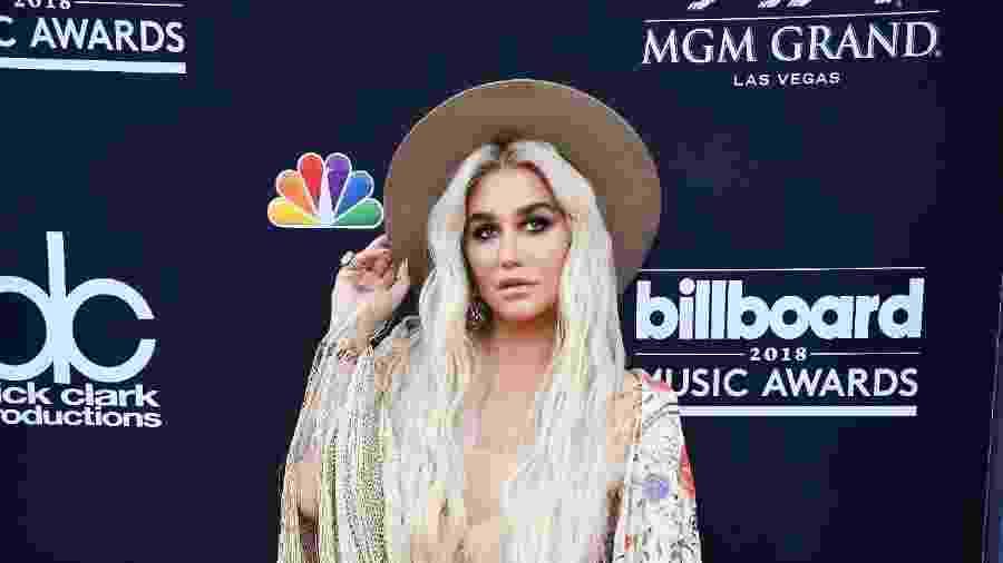 A cantora Kesha no Billboard Music Awards - Frazer Harrison/Getty Images