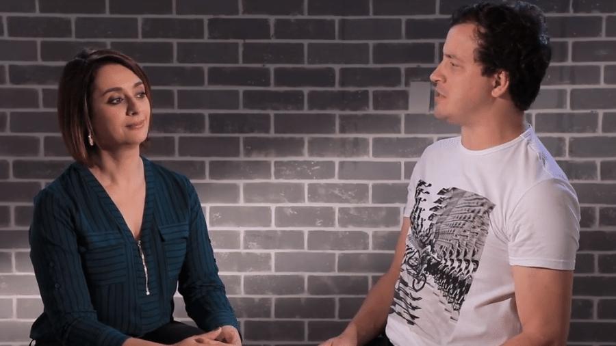 Cátia Fonseca é entrevistada por Rafael Cortez - Reprodução/YouTube
