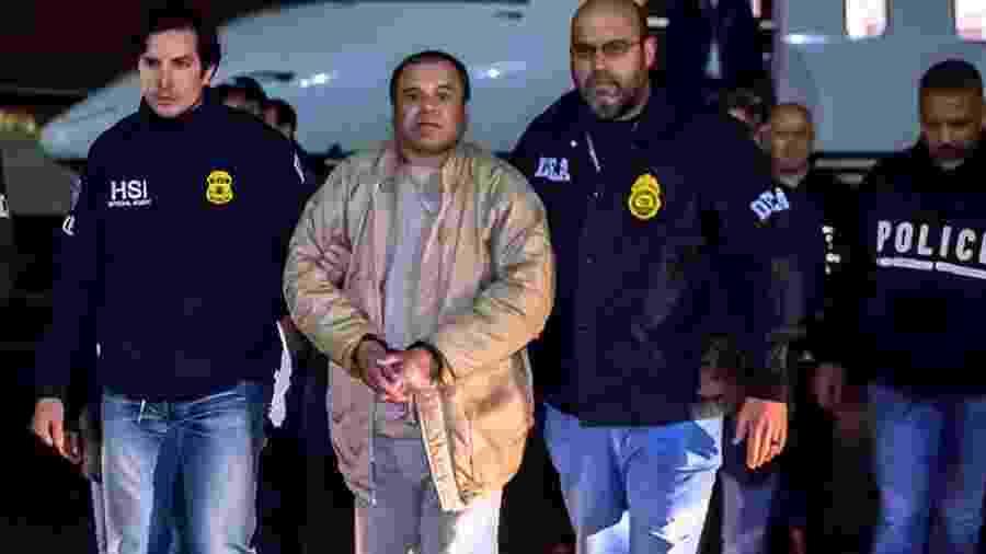 "Joaquín Guzmán Loera, o ""El Chapo"", foi um dos principais líderes do cartel de Guadalajara - ICE"