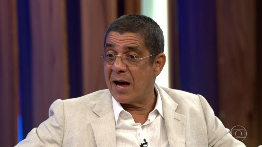 """Zeca Pagodinho no """"Conversa com Bial"""" - Reprodução/Globo"""
