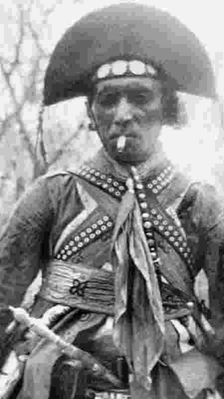 Lampião foi morto em 1938, poucas semanas após ter completado 41 anos -  Benjamin Abrahão/IMS -  Benjamin Abrahão/IMS
