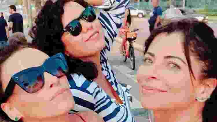 Suzana Pires, Dadá Coelho e Anna Lima no Rio de Janeiro - Reprodução/Instagram - Reprodução/Instagram