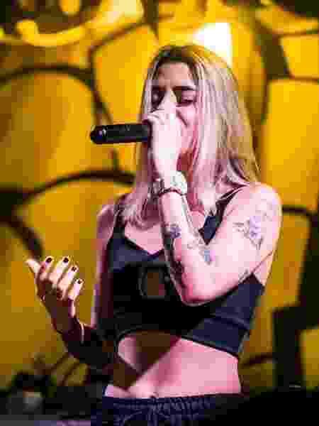 Cynthia Luz em show - Facebook/Reprodução - Facebook/Reprodução
