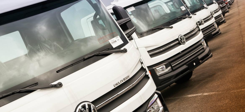 Linha de caminhões leves Delivery, da VW Caminhões: empresa quer investir R$ 1,5 bilhão no Brasil - Divulgação