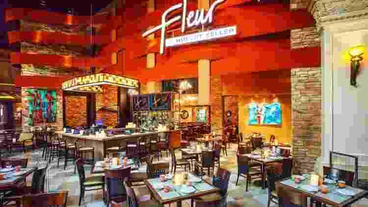 O Fleur by Hubert Keller fica dentro do complexo do Mandalay Bay, em Vegas - Divulgação/MGM Resorts International
