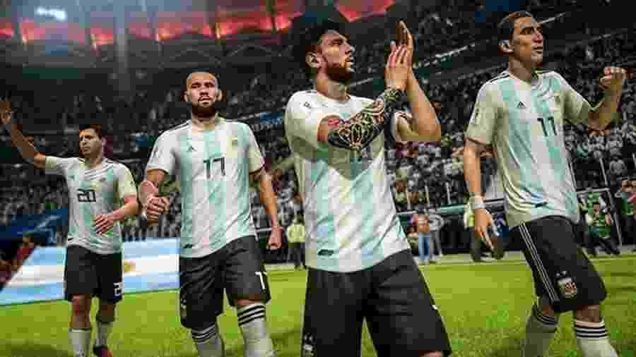 """Brasil e Argentina lideram seleção da Copa América no """"FIFA 19""""; em campo, seleções têm tropeçado  - Divulgação"""