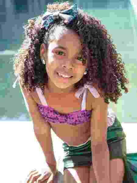 Isadora: feliz porque a pequena sereia vai ficar parecida com ela - André Rodrigues/ UOL