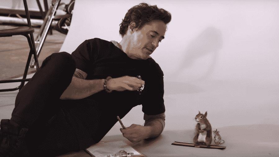 Robert Downey Jr. faz teste de elenco com animais para Dolittle - Reprodução/Youtube/Universal Pictures