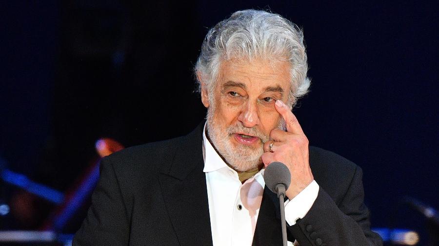 O tenor Plácido Domingo - Attila Kisbenedek/AFP