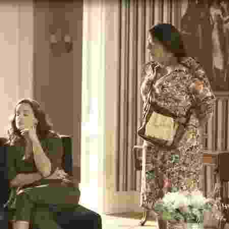 """Lurdes pede demissão do emprego na casa de Lídia em """"Amor de Mãe"""" - Reprodução/Globo"""