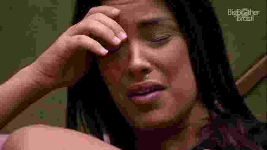 BBB 20 - Ivy chora ao falar de eliminação de Daniel - Reprodução/Globoplay