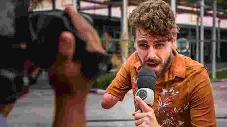 Daniel Toco apresenta novo quadro do Balanço Geral RJ  - Divulgação