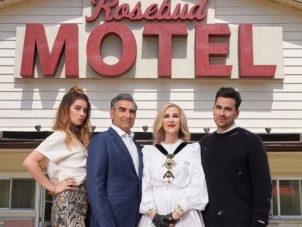 O elenco de 'Schitt's Creek'