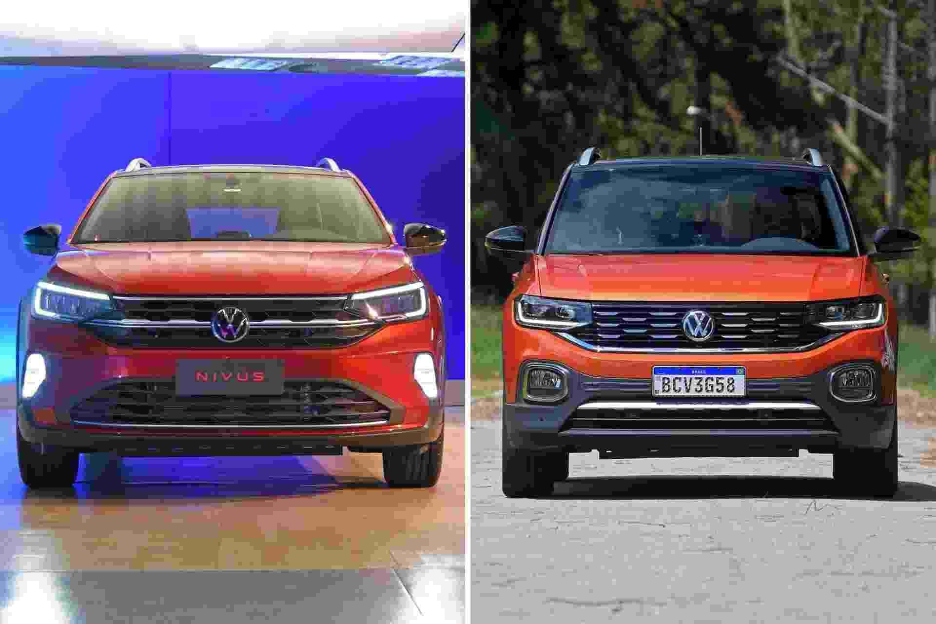 VW Nivus x VW T-Cross - Murilo Góes/UOL