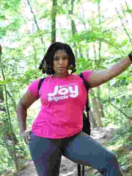 Lee Scottlorde é uma das mulheres que acompanha o GirlTrek - Christian Jones - Christian Jones