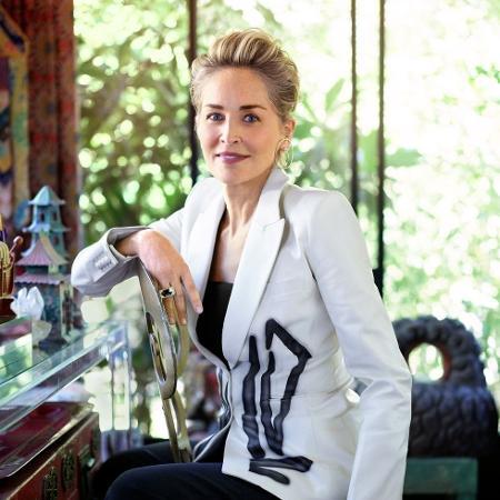 """Sharon Stone ganhou popularidade mundial ao atuar em """"Instinto Selvagem"""" de 1992 - Reprodução"""