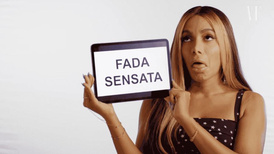 Anitta falou sobre termo em vídeo publicado por revista - Reprodução/YouTube