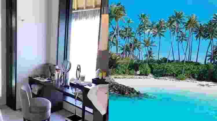 Ana Paula Siebert mostra quarto de luxo em resort nas Ilhas Maldivas - Reprodução/Instagram - Reprodução/Instagram