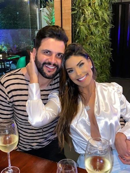 Rogério Fernandes e Ivy Moraes - Reprodução/Instagram