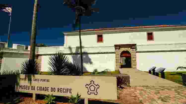 Forte das Cinco Pontas, no Recife - Andréa Rêgo Barros - Andréa Rêgo Barros