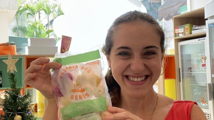 Gabriela Fugulin, que criou uma padaria para bebês - Arquivo pessoal
